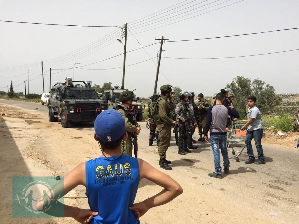 Izbit Tabib Protest April 2016