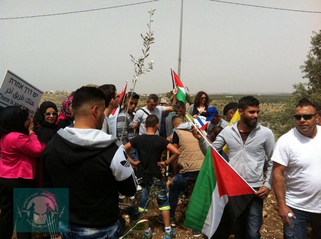Izbit Tabib Protest April 2016-15