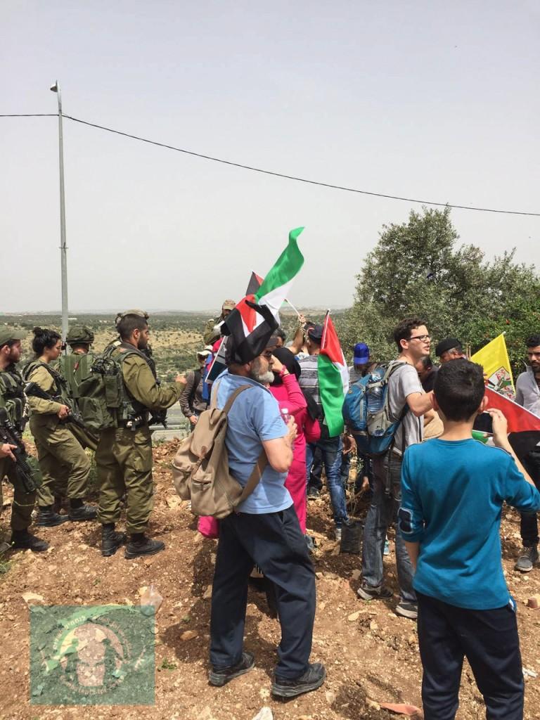 Izbit Tabib Protest April 2016-4