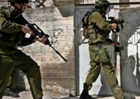 Israeli troops invading (file photo from Paltoday)