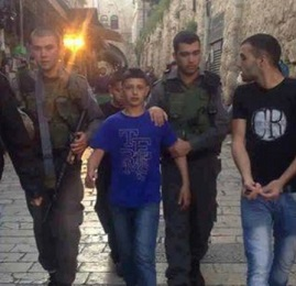 Israeli soldiers abduct youth (archive image from Palestine News)