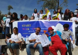 March for Autistic Kids (image from Al Ray)