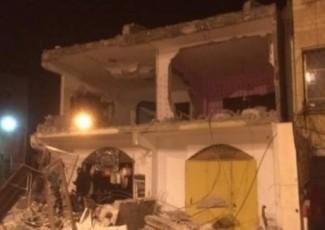 Demolished home in Qabatia