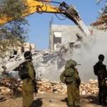 Home demolition near Nablus