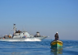 Gaza fishing boats - Al Ray news agency
