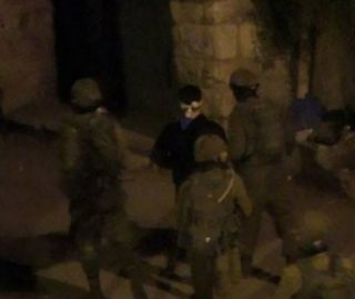 Late night kidnapping - image by PalestineTV