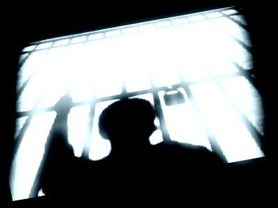 Prisoner in shadow - PNN archive