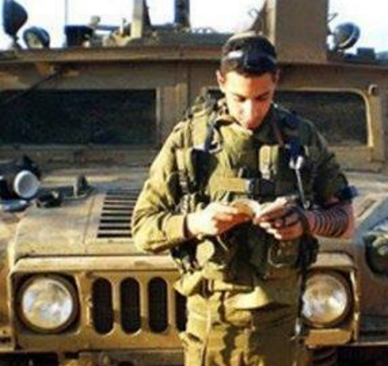 Israeli soldier in front of jeep (File - Bethlehem News)