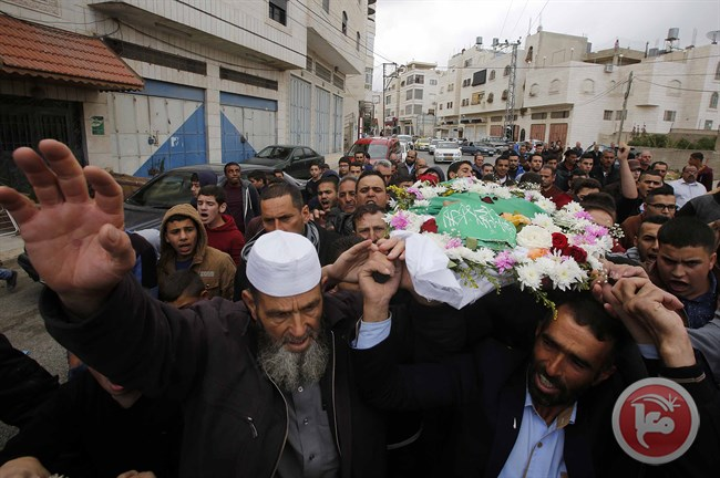Funeral of Abdul-Fattah Sharif (image from Ma'an)