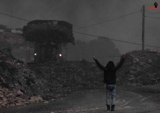 Kafr Qaddoum bulldozer