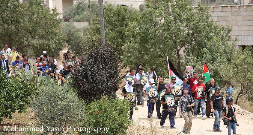 05/13 March in Bil'in