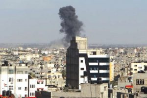 Airstrike in Rafah (archival PCHR image)