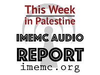 Audio report - this week in Palestine