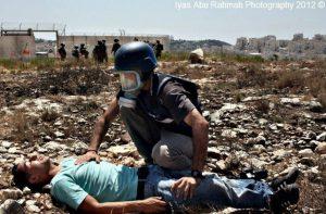 cameraman Ali AbuRahma Injured Bilin