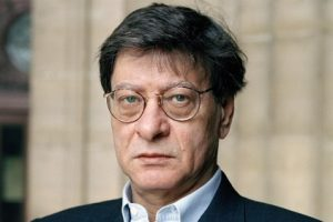 An undated photo of Palestinian poet Mahmoud Darwish.