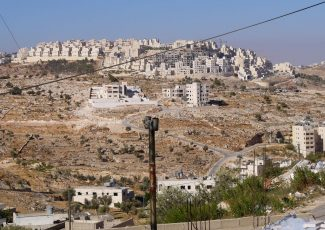 Settlement of Har Homa, as seen from Beit Sahour