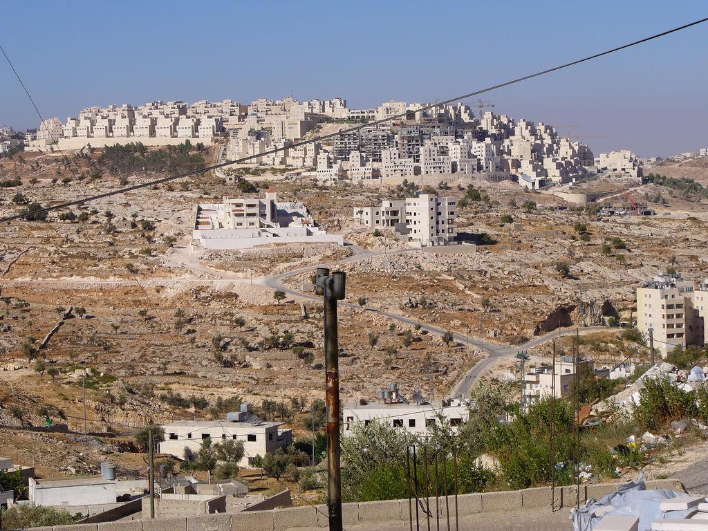 Settlement of Har Homa, as seen from Beit Sahour