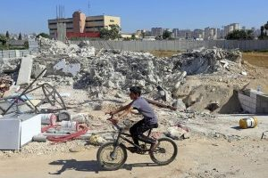 Homes demolished in Qalandia (PCHR photo)