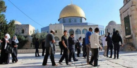 Шин-Бет и израильские поселенцы снова вторгаются в Мечеть Аль-Акса