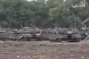 tanks Gaza