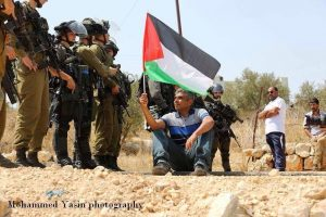 Bil'in protest (image by Mohammed Yasin)
