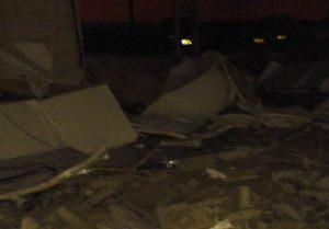 demolished carsale