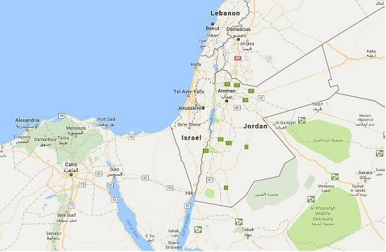Google Wipes Palestine Off The Maps IMEMC News - Map of palestine