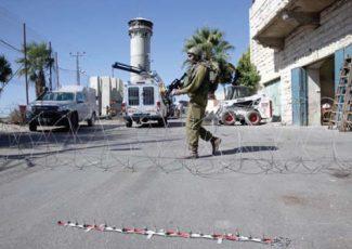 Closure of Beit Ummar village (image by Mohammad Elayan)
