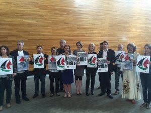 Flotilla supporters (Albert Llop – Anadolu Agency )
