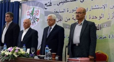 Fatah movement re-elects President Abbas as party leader