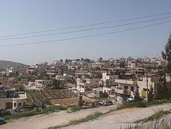 Beit Ummar village (image from wikimedia)