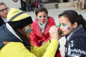 Children visiting Bethlehem (HCEF image)