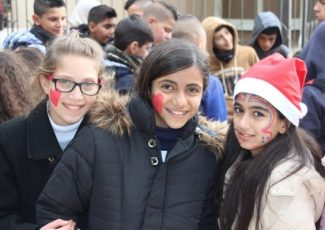 Children visit Bethlehem (image from HCEF)