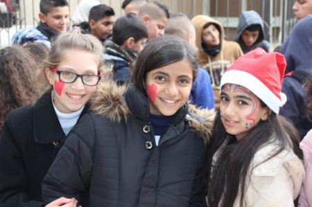 Children visit Bethlehem (image from HCEF)