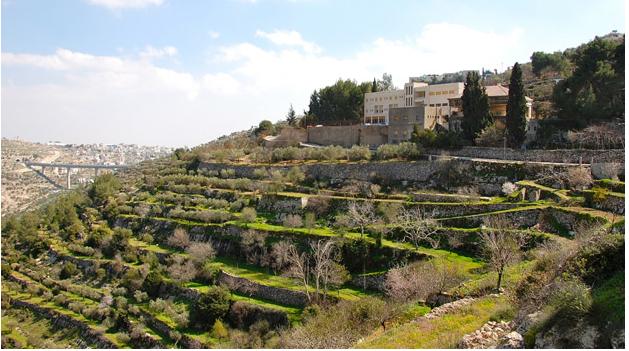 Cremisan monastery (image from http://friendsofbethlehem.org)
