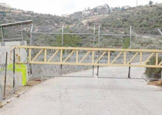 West Bank: Israeli Forces Close al-Jesser Road Between Ras Karkar and Deir Ibzaigh Villages. (PCHR image)