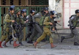 Israeli army invasion - archive image (from Istandul Daily Times)