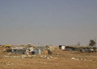 Bedouin encampment (archive image from decodejerusalem.net)