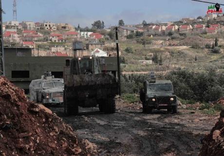 Invasion of Kafr Qaddoum (archive image from khamakarpress.com)