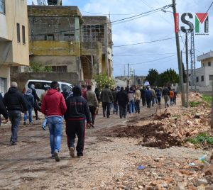 Marching in Nabi Saleh 3/3/17 (image by ISM)
