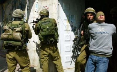 Israeli forces in West Bank (archive image)