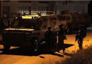 Israeli Soldiers Abduct A Palestinian In Tulkarem