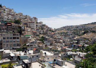 Al-Bustan neighborhood. Photo: Keren Manor, Activestills, 15 May 2014