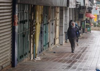 General strike (image by Quds News)