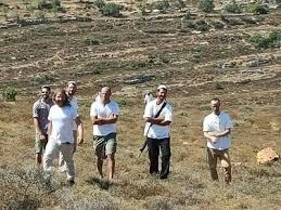 Israeli settlers in the Jordan Valley (archive image)