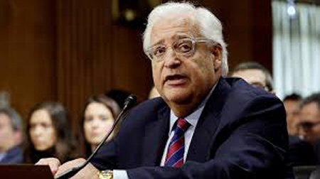 David Friedman Denies Calling For Ouster Of Abbas