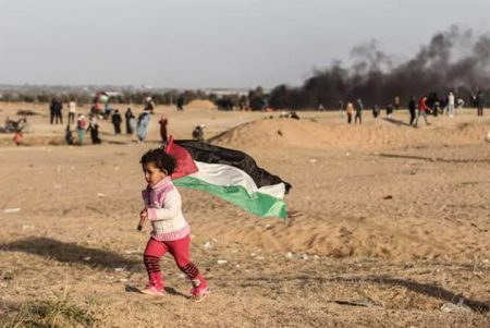 Return march (image from Times of Palestine)