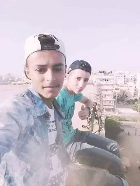 The last selfie the two boys took before they were killed