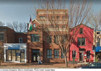 PLO office in Washington DC