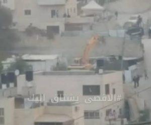 Israeli Army Demolishes A Palestinian Home In Jerusalem